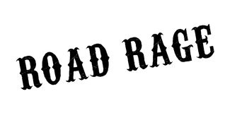 Road Rage rubber stamp Royalty Free Stock Photography
