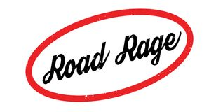 Road Rage rubber stamp Stock Photos