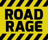 Road Rage sign Royalty Free Stock Photos