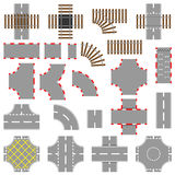 Road And Rail Elements Stock Image