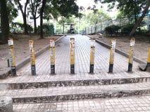 Road railing Royalty Free Stock Photography