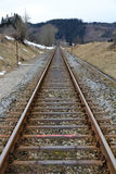 Road rails. For the Federal Railroad Stock Photography
