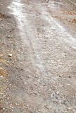 Road after rain. Photo taken by professional camera and lens Royalty Free Stock Image