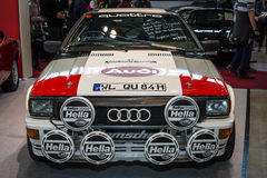 Road and rally car Audi Quattro. Stock Images