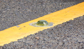 Road reflector Royalty Free Stock Photo