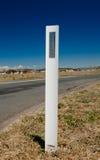 Road Reflector, Regional Australia Stock Images