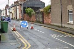 Road repair. The work of road repair in the city Royalty Free Stock Photography