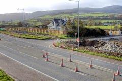 Road repair Royalty Free Stock Photography