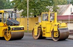 Road repair Stock Image