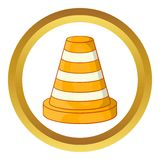 Road repair sign vector icon Stock Images