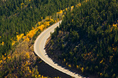 Road Through The Rockies Stock Photography