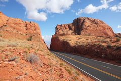 The road among rocks Royalty Free Stock Photography