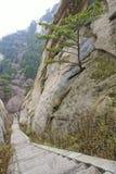 Road between rocks Stock Images