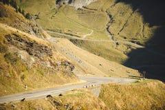 Road at Rocky Hills. Loop road at rocky hills Stock Image