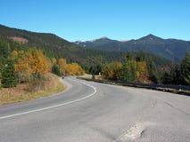 Road and Rohace, Western Tatras, Slovakia Stock Image
