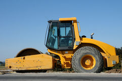 Road roller Royalty Free Stock Images