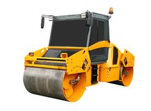 Road roller Royalty Free Stock Photo