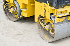 Road roller Royalty Free Stock Photos
