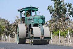 Road Roller India Royalty Free Stock Images
