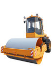 Road roller Stock Image