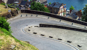 Road rounding in Namur Royalty Free Stock Images