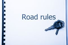 Road rules Royalty Free Stock Image