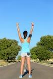 Road runner success Stock Photos