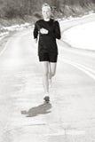 Road Running Stock Photo