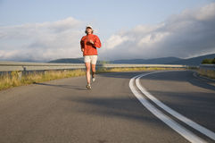 Road running. Stock Image