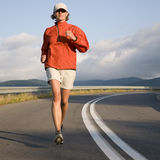 Road running. Royalty Free Stock Photos