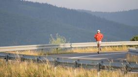 Road running. Stock Photo