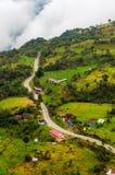 Rural High Altitude Road Stock Image