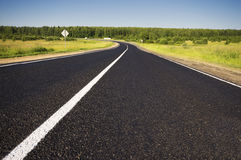 Road in rural Stock Photography