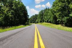 Road in a rural area Stock Image