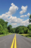 Road in a rural area Royalty Free Stock Photo