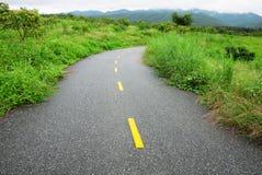 Road in rural area Stock Photos