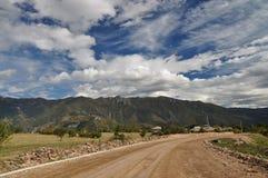 Road in rural Armenia Stock Image