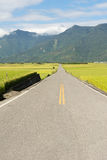 Road in rural Stock Image
