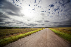 Road in russia Royalty Free Stock Photography