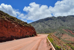 Road Ruta 40 in Cuesta de Miranda. Argentina Stock Photos