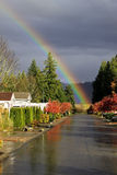 Road's End Rainbow Royalty Free Stock Image