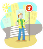 Road safety Stock Photo