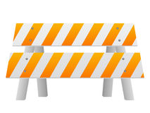 Road safety barrier Royalty Free Stock Image