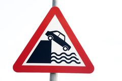 Road Safety Sign Royalty Free Stock Images