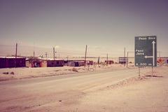 Road in San Pedro de Atacama, Chile Royalty Free Stock Image