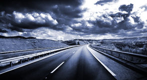 Road scenery Royalty Free Stock Photos