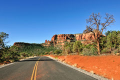 Road through Sedona Royalty Free Stock Photos