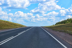 Free Road Sent To Distance To Horizon Royalty Free Stock Photos - 80863378