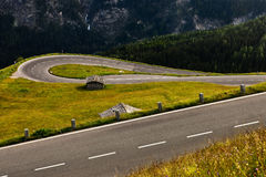 Road serpentine. Royalty Free Stock Image
