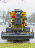 Road services are ready for winter. Royalty Free Stock Image